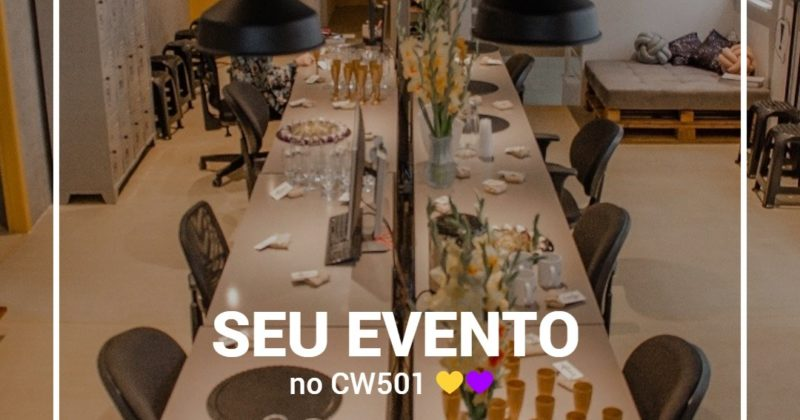 Seu evento no CW501!
