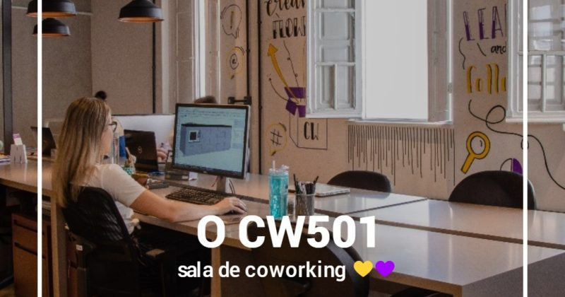 Isso é coworking!